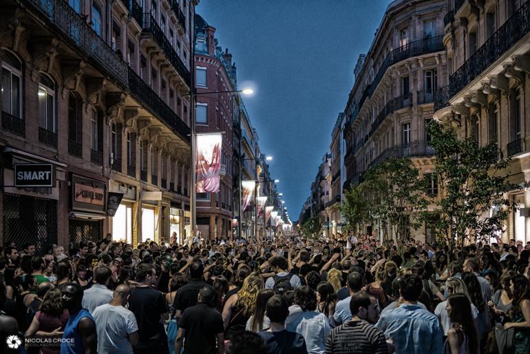 Toulouse - Fête de la musique - Rue d'Alsace-Lorraine