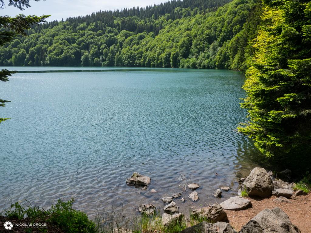 Vue sur le Lac Pavin