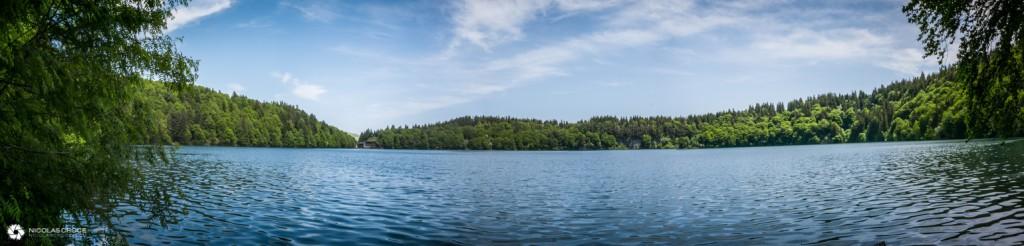 Panorama du Lac Pavin