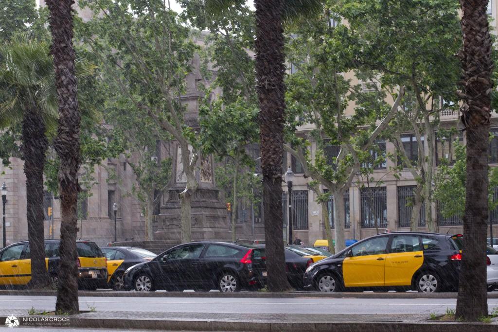 Averse à Barcelone