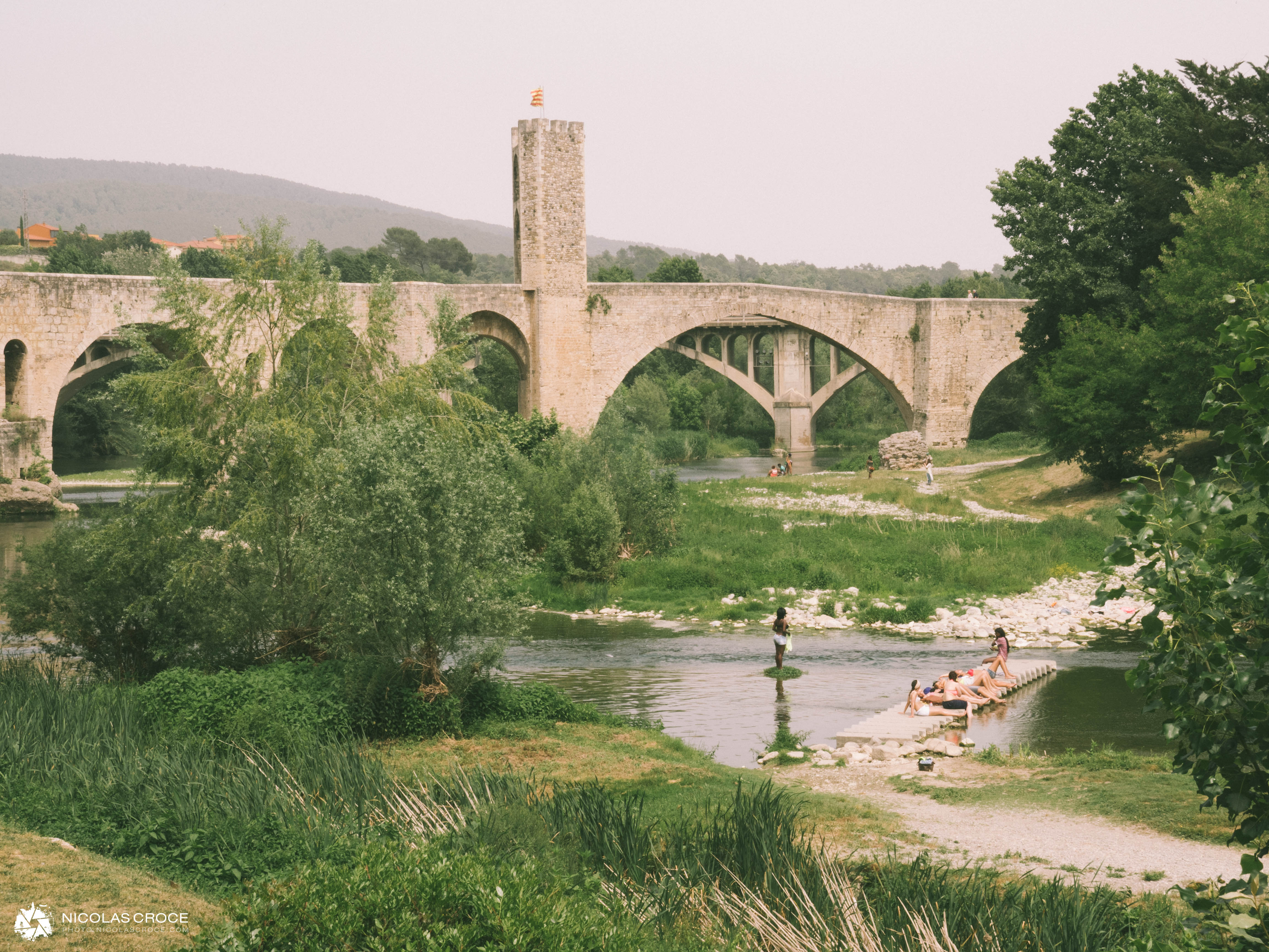 Pont de Besalu, Espagne